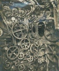 Obscenely complicated WW2 U-Boat controls