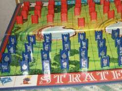 stratego game board